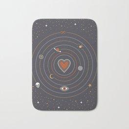Love Universe Bath Mat