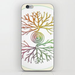 Tree of Life in Balance iPhone Skin
