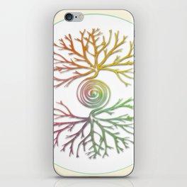 Tree of Life in Balance iPhone Skin