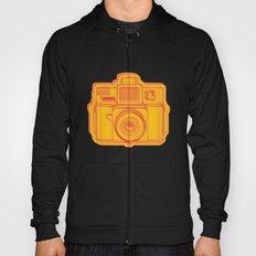 I Still Shoot Film Holga Logo - Reversed Yellow & Red Hoody