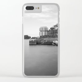 Madeira Long exposure Clear iPhone Case