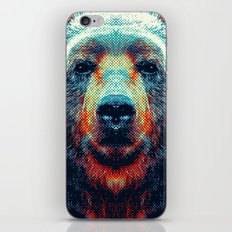 Bear - Colorful Animals iPhone & iPod Skin