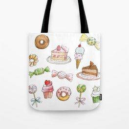 Cakes & Candies Tote Bag