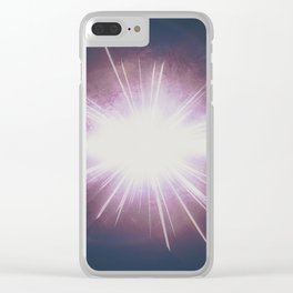 breath intro Clear iPhone Case