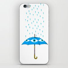 Storms Are Brewing In Your Eyes iPhone & iPod Skin