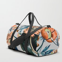 Flowering autumnal botanic Duffle Bag