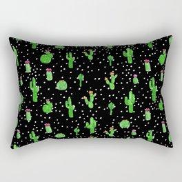 Dotted Cactus Rectangular Pillow
