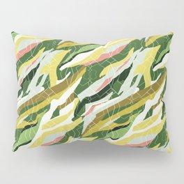 Gorgeous  Green Military Pillow Sham