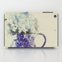 hydrangea iPad Cases featuring Hydrangea by Beverly LeFevre