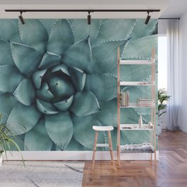Aloe Green Agave Wall Mural