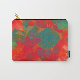 """""""Intense Pastel Hydrangeas-Passion"""" Carry-All Pouch"""