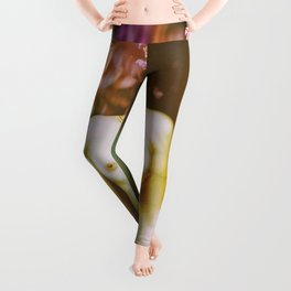 fake heart Leggings