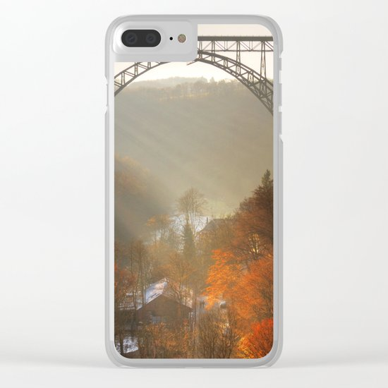valley of light Clear iPhone Case