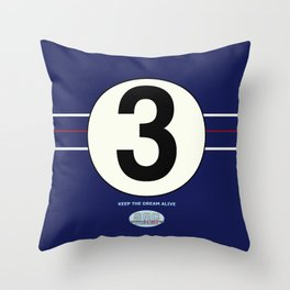 SRC Preparations. Racecar Rebels. 3 Throw Pillow
