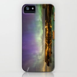 Aurora and the ISS iPhone Case