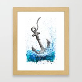 Sea Anchor Framed Art Print
