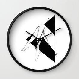 Leggy Wall Clock