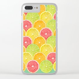 fresh fruit Clear iPhone Case