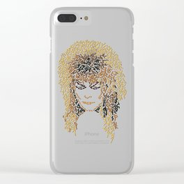 Jareth In Labyrinth Clear iPhone Case