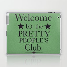 Where have all the pretty people gone? Laptop & iPad Skin