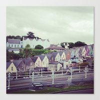 ireland Canvas Prints featuring Ireland by Alyssa Leary