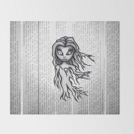 Ghost Zero Throw Blanket