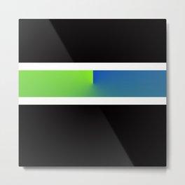Team Colors 3...blue,green Metal Print