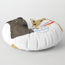 Ramen Date Floor Pillow