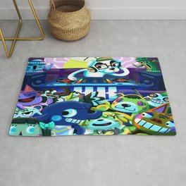 Animal Crossing DJ KK Slider Rug