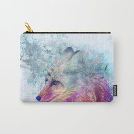 Abstract Pastel Fox Carry-All Pouch