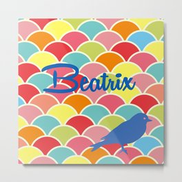 Beatrix Metal Print