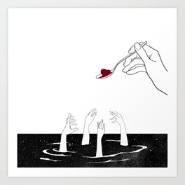 Cough Syrup Art Print