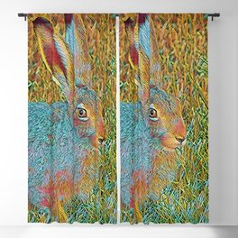 Popular Animals - Bunny 2 Blackout Curtain