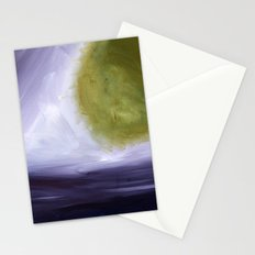 Abstract Space Stationery Cards