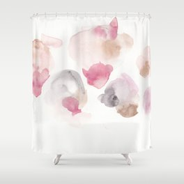 180807 Abstract Watercolour 17| Colorful Abstract |Modern Watercolor Art Shower Curtain