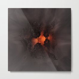 Heart of the Beast Metal Print