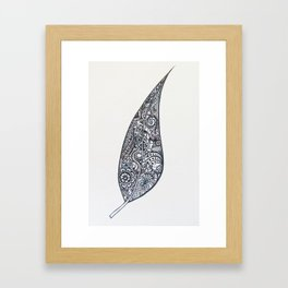 Sailing in the breeze Framed Art Print