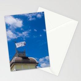 Little Blue Kiosk Flag Stationery Cards