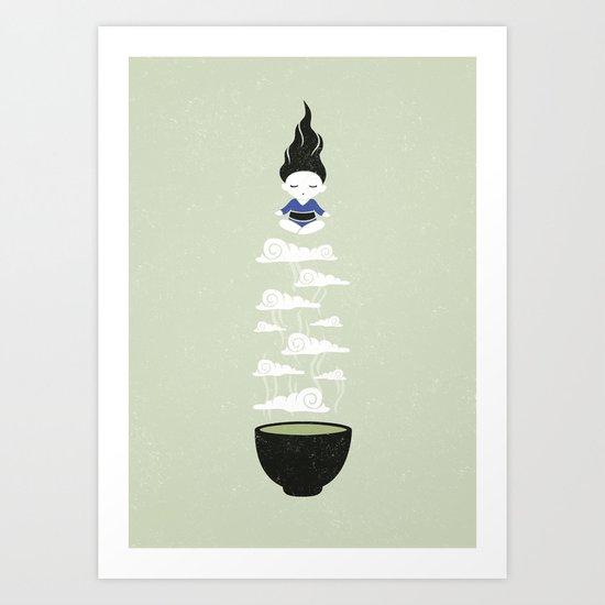 Zen tea II Art Print