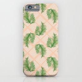 Geometries & Palms #society6 #decor #buyart iPhone Case