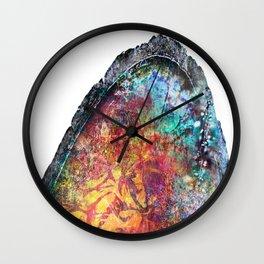 Geode Luster Wall Clock