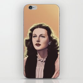 inventor-turned-actress iPhone Skin