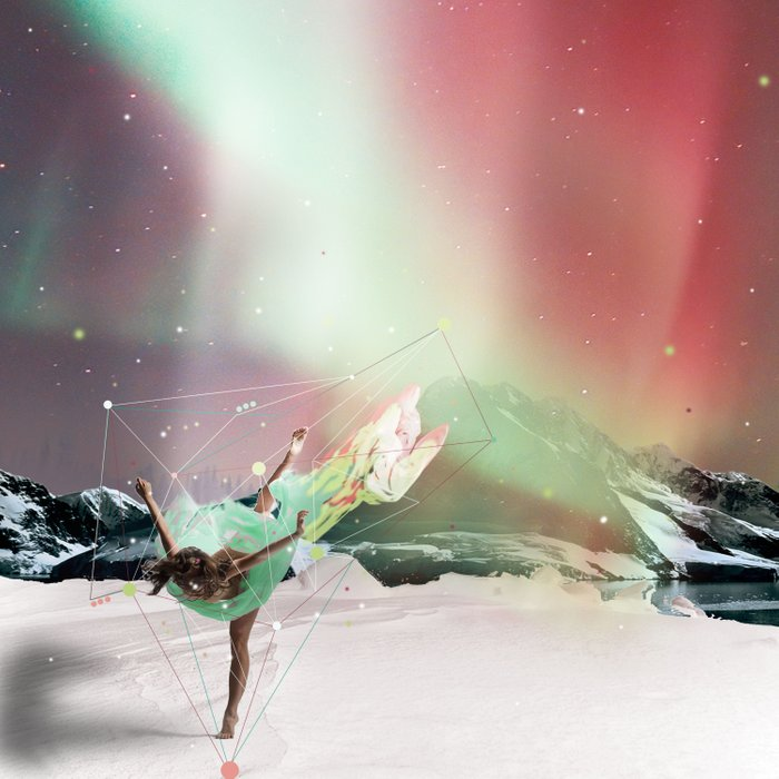 DANCE WITH AURORA Duvet Cover