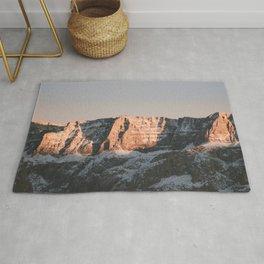 Dolomites   Nature and Landscape Photography Rug