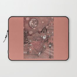 Strawberry Moon in June Laptop Sleeve