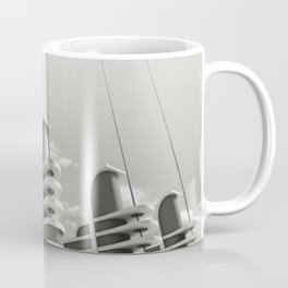 PAN PACIFIC AUDITORIUM BLACK AND WHITE Coffee Mug