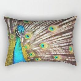 Describe Beauty: Peacock Rectangular Pillow