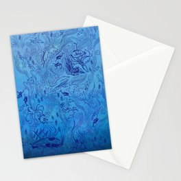 Le Grand Bleu Stationery Cards
