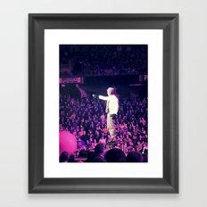 Concert Photo Framed Art Print