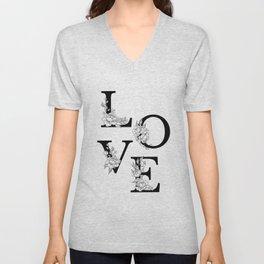 Love bloom Unisex V-Neck